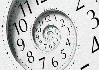 Reloj spiral - horarios